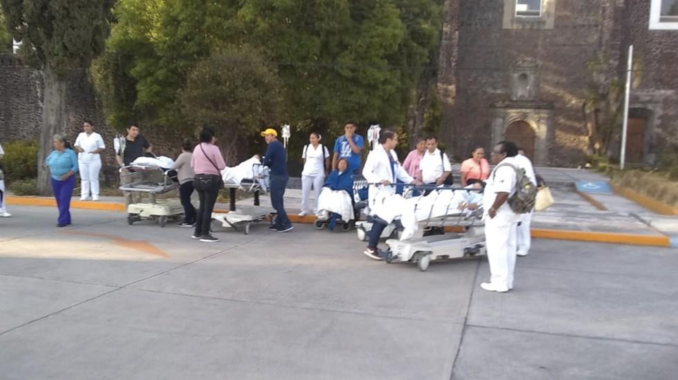 Desalojan Hospital Juárez por falsa amenaza de bomba - Foto de @SGIRPC_CDMX