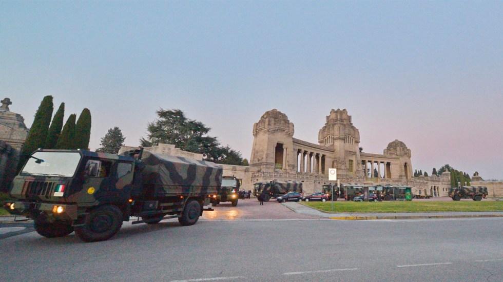 Italia desplegaría tropas para vigilar que se cumpla cuarentena por COVID-19 - El ministro de Defensa de Italia ha confirmado la