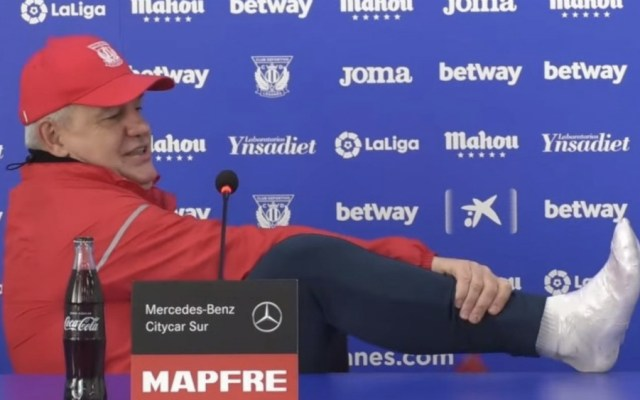 A mi edad estos retos me dan 'vidilla', dijo Aguirre sobre salvar al Leganés - Foto de Leganés
