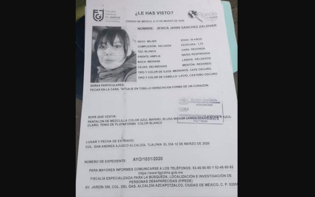 Localizan el cuerpo calcinado de Jesica, reportada como desaparecida - Foto de Twitter