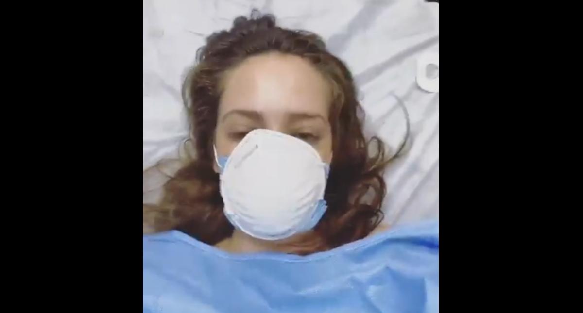 Jolette revela desde hospital que dio positivo a COVID-19- Jolette Navarrete COVID-19