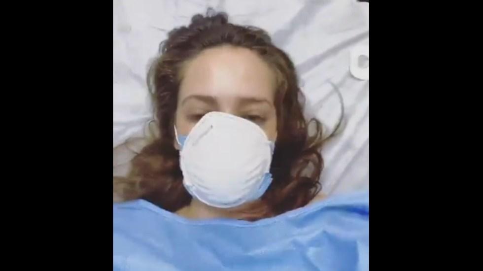 Jolette revela desde hospital que dio positivo a COVID-19 - Jolette Navarrete COVID-19