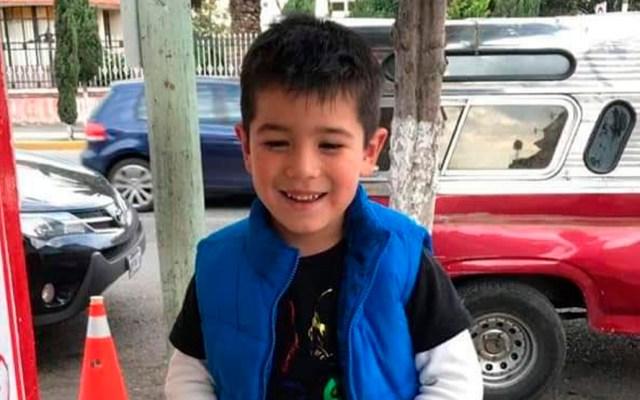 Secuestran a niño de 4 años en Singuilucan, Hidalgo - Josué Adrián Cárdenas Vargas. Foto de Twitter