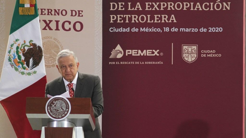 Se mantendrán asociaciones de Pemex con capital privado, señala AMLO - lópez obrador pemex Expropiación Petrolera