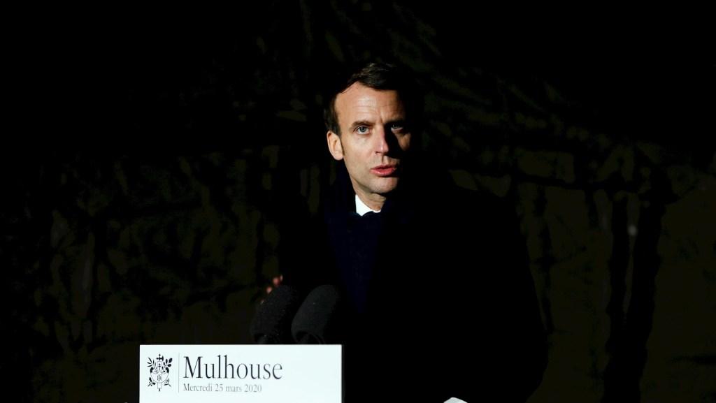 Macron pide solidaridad de Europa para vencer crisis del COVID-19 - Macron covid-19 coronavirus