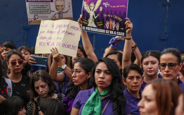 Inicia en la Ciudad de México dispositivo de seguridad por el #8M - Manifestación contra la violencia de género en la CDMX. Foto de Notimex