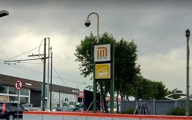 L5 del Metro reanudará operaciones este martes tras fuga en gasolinera - Metro Hangares. Foto de Google Maps / Nico Briones