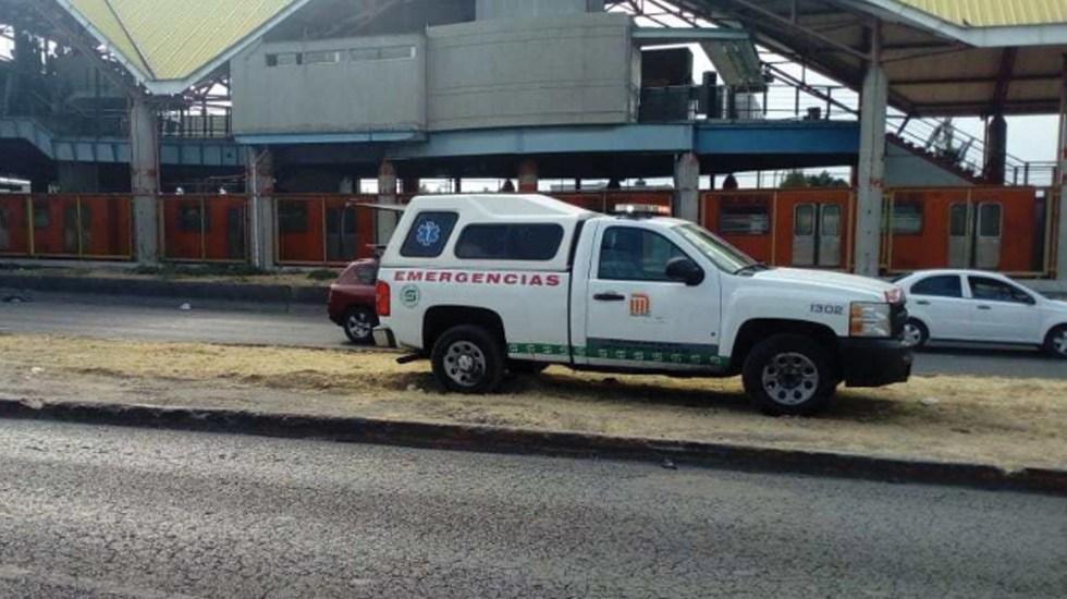 Muere una persona al arrojarse a vías del Metro Impulsora - Foto de Hoy Estado