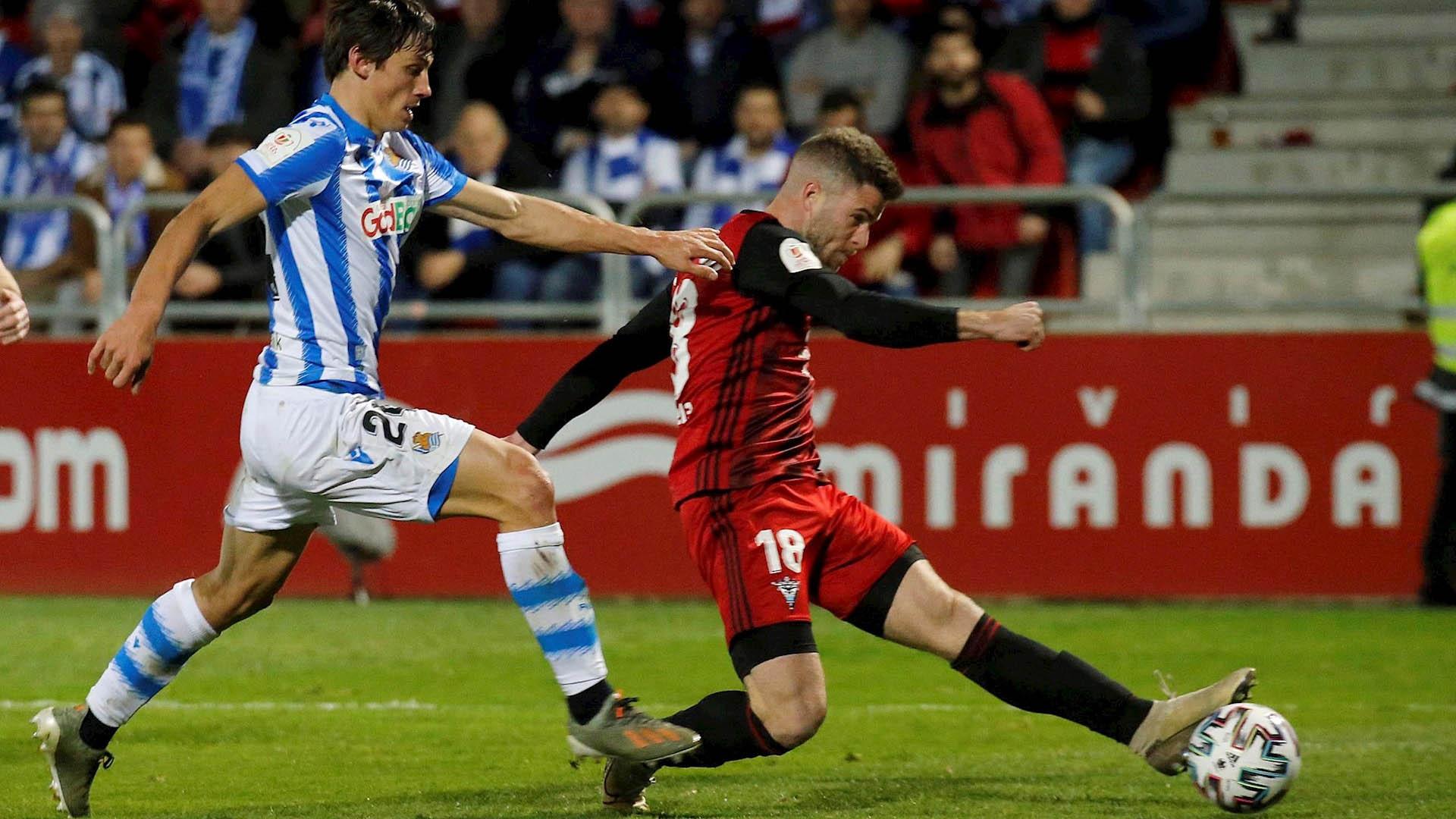 Mirandés Real Sociedad Copa del Rey 2
