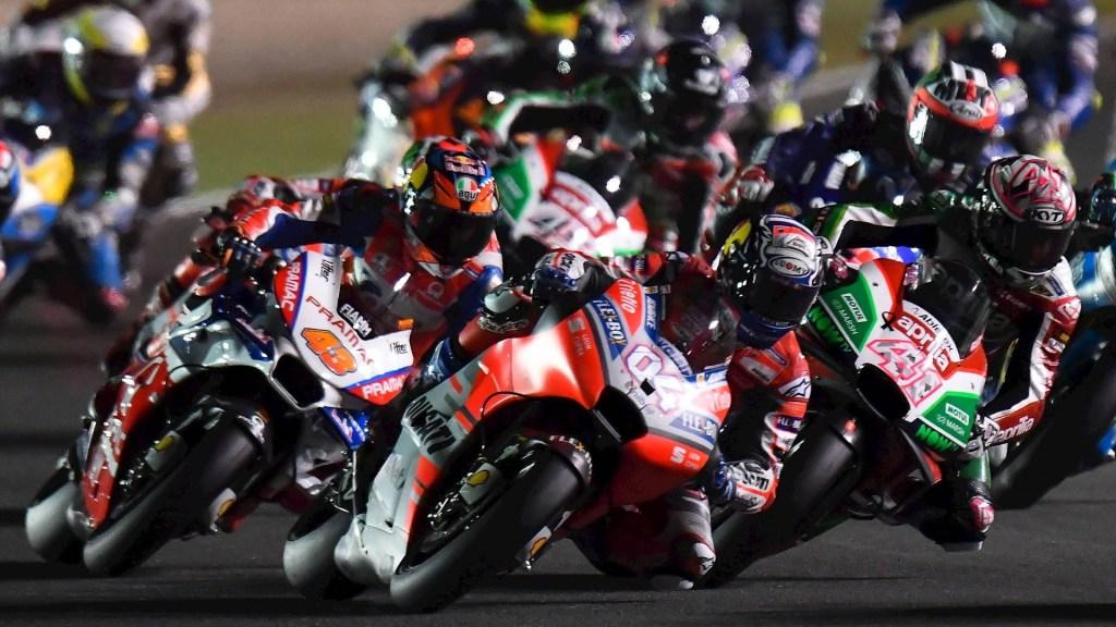 Cancelan el Gran Premio de Qatar de MotoGP por coronavirus - Moto GP carrera