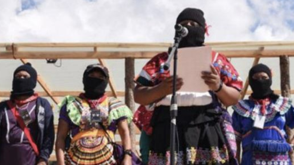 Mujeres del EZLN se sumarán al paro nacional del 9 de marzo - Foto de Enlace Zapatista