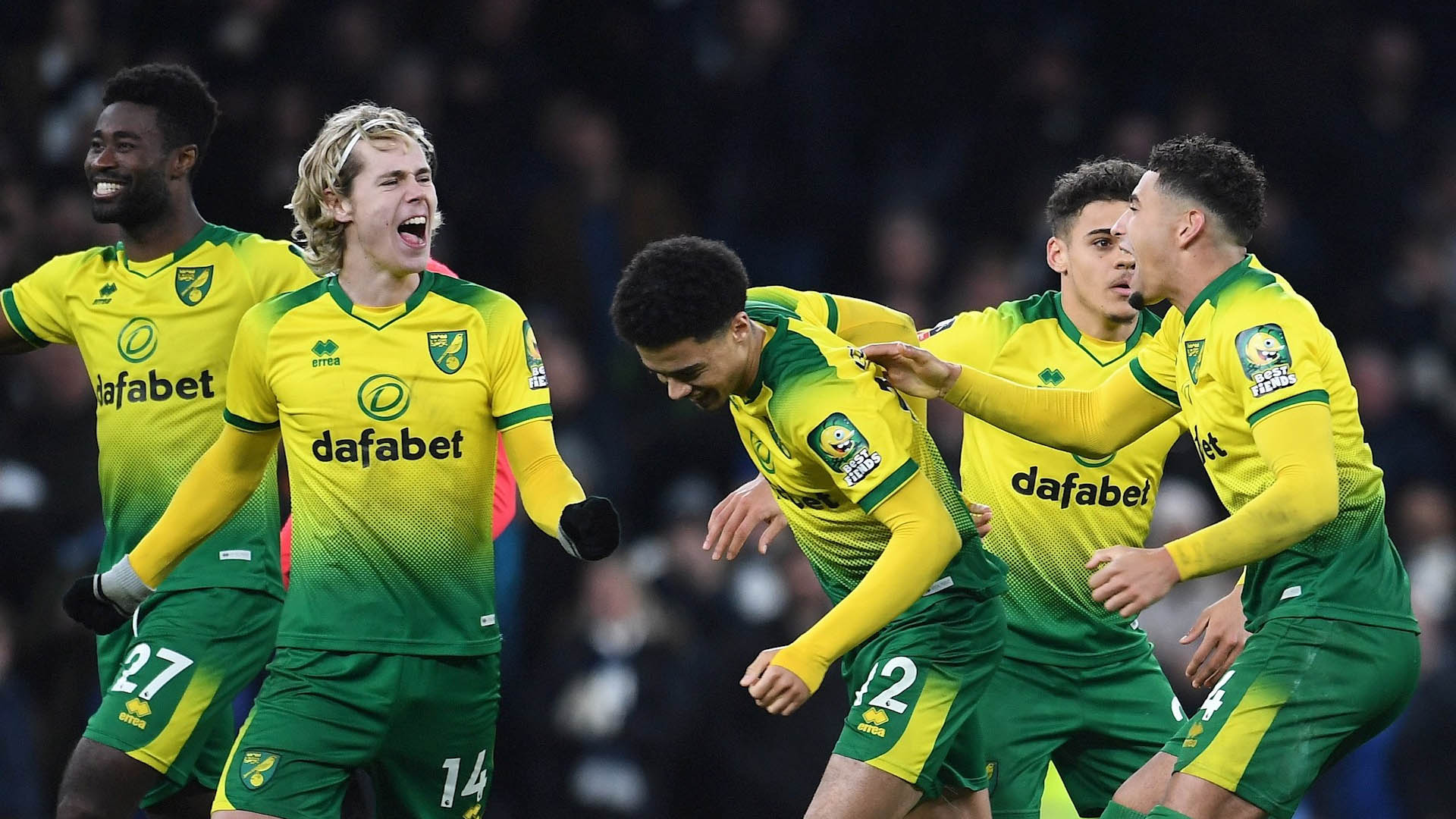 Norwich Tottenham Partido FA Cup 2