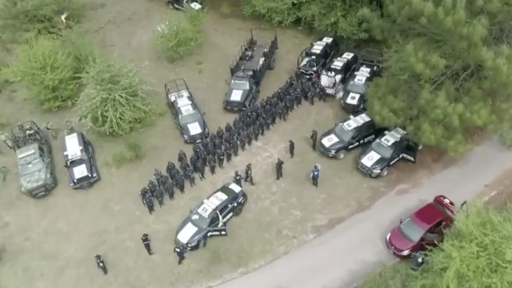 Sigue la búsqueda del animal que mató a un hombre en Valle de Bravo - Foto de Noticieros Televisa