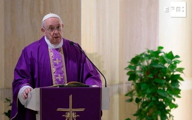 Papa Francisco convoca a rezar el Padre nuestro el próximo 25 de marzo - Foto de EFE