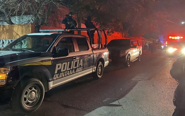 Policías de Quintana Roo liberan a víctimas de secuestro tras enfrentamiento - Policía de Quintana Roo. Foto de @kpya