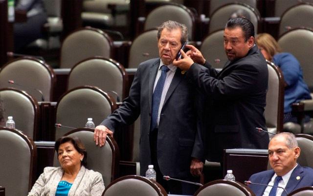 Muñoz Ledo arremete contra diputados de Morena; los llama hipócritas - Porfirio Muñoz Ledo