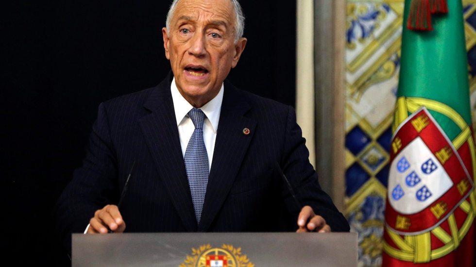 Portugal declara estado de emergencia por COVID-19 - El presidente de Portugal, Marcelo Rebelo de Sousa. Foto de EFE