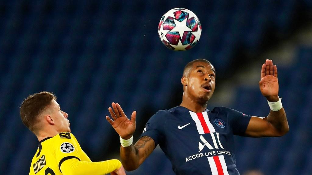 PSG rompe maleficio y avanza a cuartos de final de la Champions League - El PSG ganó por dos goles a cero al Dortmund. Foto de EFE
