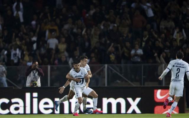 Pumas y América empatan a tres goles en Ciudad Universitaria - Foto de Mexsport