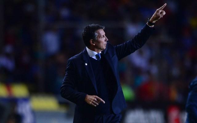Siboldi pide a jugadores de Cruz Azul evitar la soberbia - Robert Dante SiboldI Cruz Azul 2