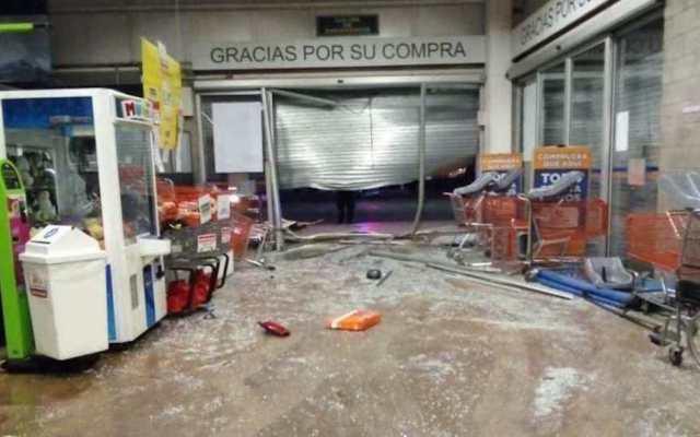 #Video Comando roba Chedraui en Tecámac - Foto de Economía Hoy