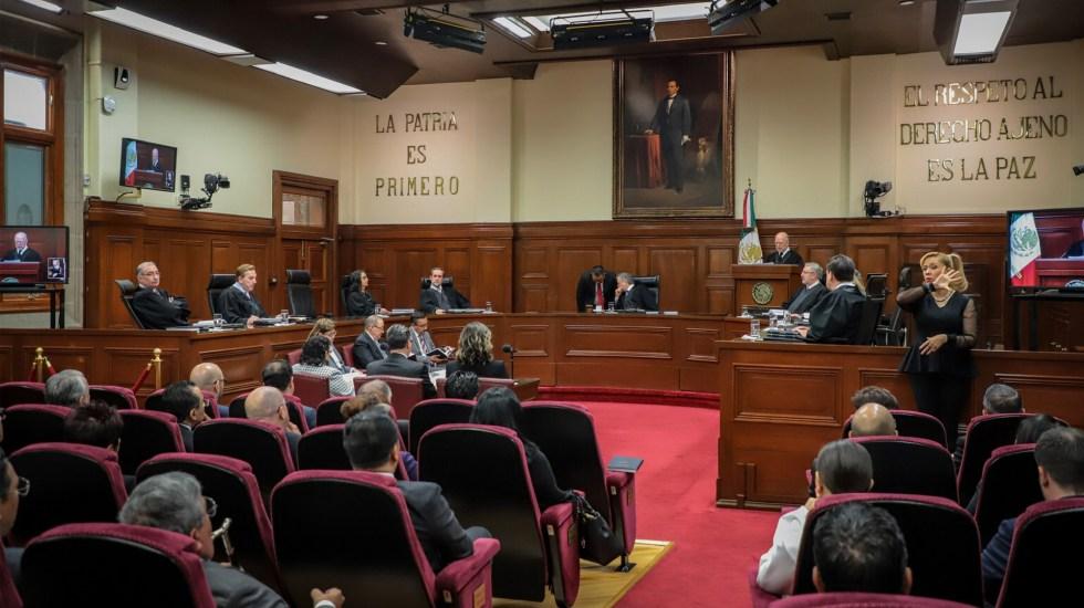 SCJN tendrá 20 días naturales para resolver constitucionalidad de solicitud para enjuiciar a expresidentes - Actividades al interior de la SCJN. Foto de Notimex / Archivo