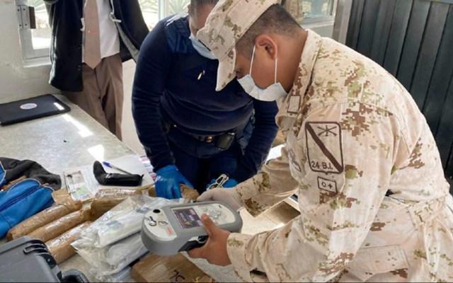 Sedena asegura heroína, cocaína y fentanilo en Sonora - Sedena asegura heroína, cocaína y fentanilo en Sonora