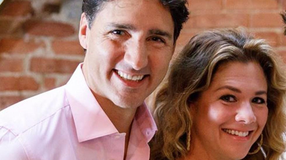 Sophie Grégoire, esposa de Justin Trudeau, da positivo a coronavirus - Sophie Grégoire y Justin Trudeau. Foto de @SophieGregoireTrudeau