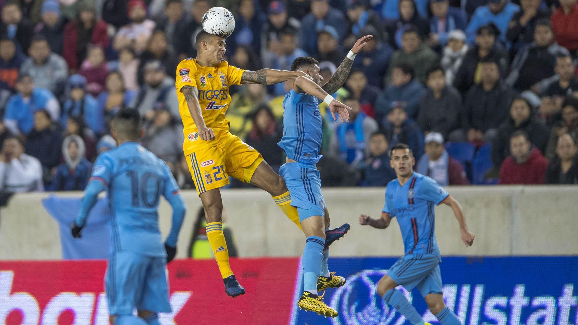 Tigres partido New York City Liga Concacaf 2