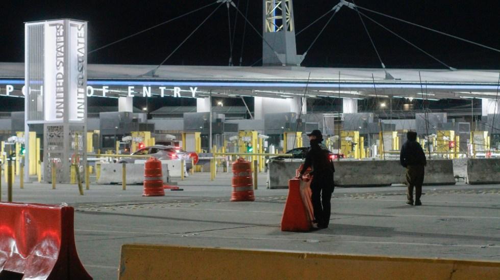 México y EE.UU. mantendrán restricciones a tránsito no esencial hasta 21 de septiembre - Tijuana Mexico EEUU frontera
