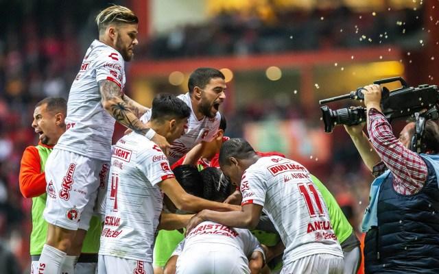 Xolos se impone a Toluca y es el primer finalista de la Copa MX - Toluca partido Copa MX Tijuana Xolos