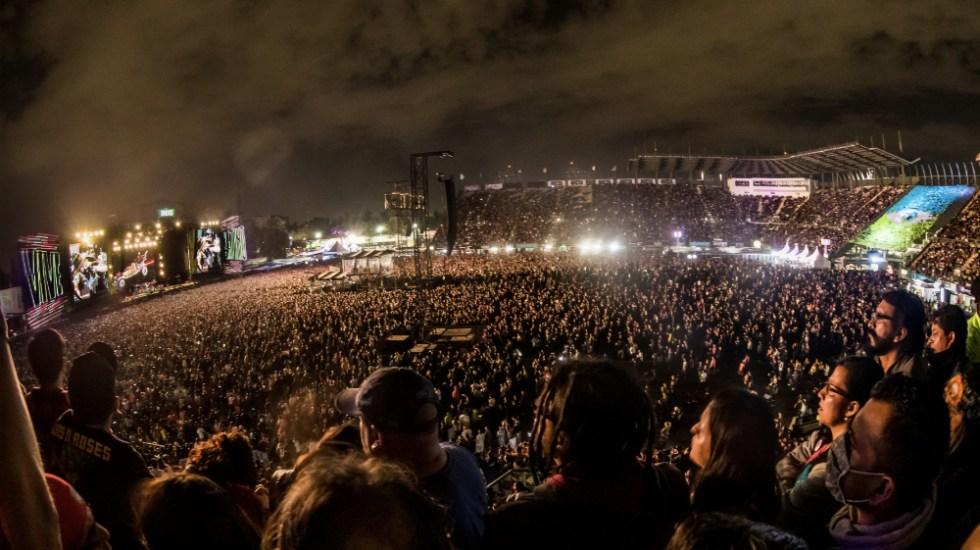 Manifestaciones, elecciones y conciertos: de espaldas a una pandemia - Foto de @vivelatino