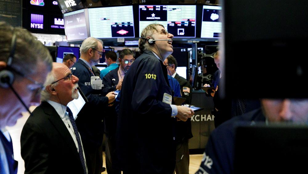 Wall Street abre con caídas en medio de la volatilidad por COVID-19 - Foto de EFE