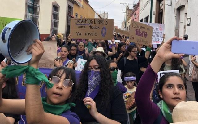 Exigen alto a violencia de género en Querétaro - Foto de @rosa13m