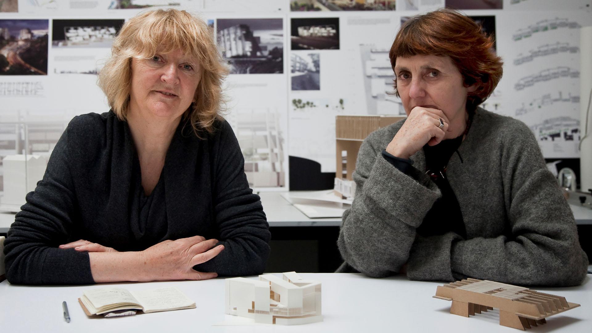 Las irlandesas Yvonne Farrel y Shelley McNamara, ganan el