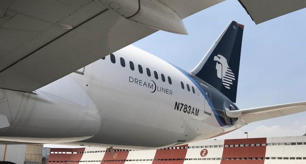 Aeroméxico seguirá operando, no habrá afectación a clientes: Andrés Conesa - Aeroméxico avión China insumos