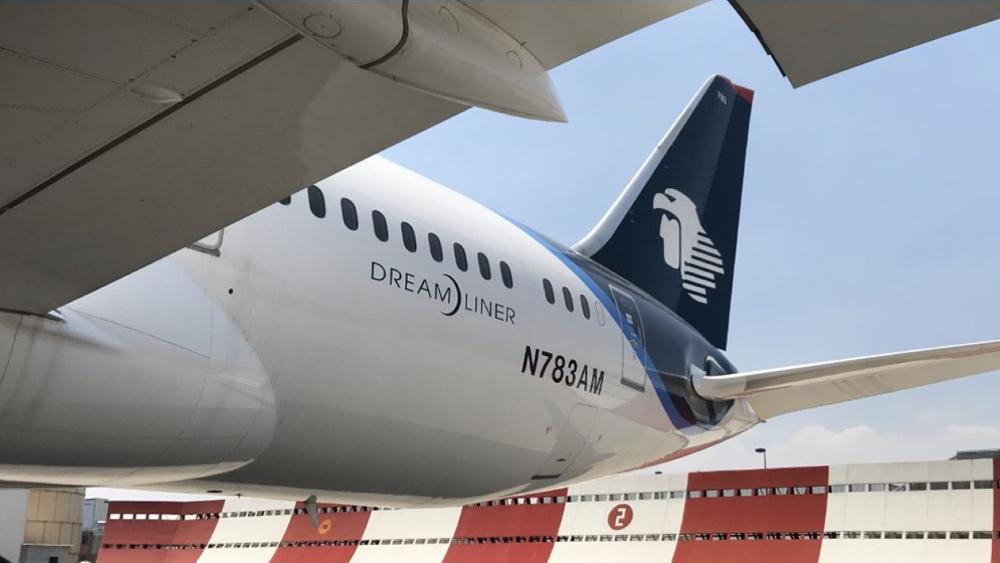 Aeroméxico traslada insumos médicos de China a México - Foto de Aeromexico