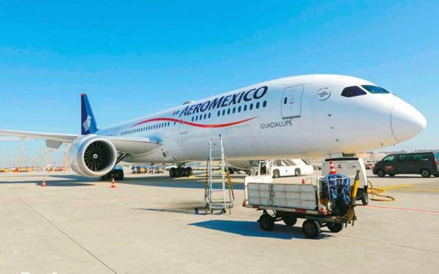 Parte a Shanghai vuelo para traer equipo médico a México - Foto de @Aeromexico