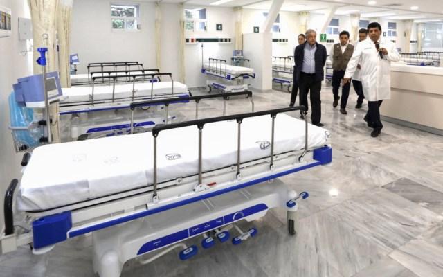 López Obrador visita hospital del IMSS en Villa Coapa para atender COVID-19 - AMLO Hospital COVID-19