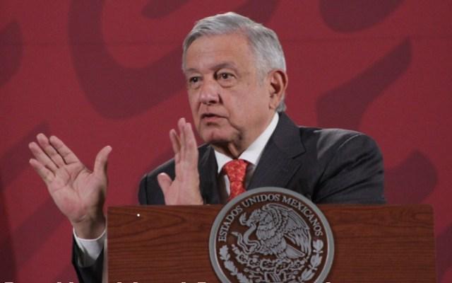 """López Obrador anuncia """"limpia"""" en Aduanas; confirma reunión con Ricardo Ahued - Foto de @Notimex"""
