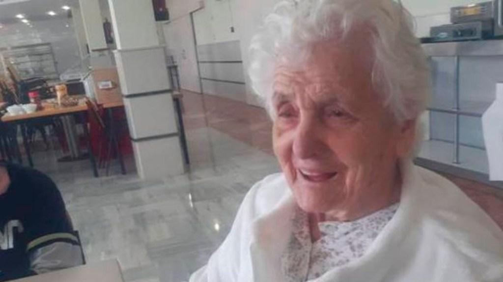 Mujer de 107 años sobrevive a la gripe española y al COVID-19 - anciana española COVID-19.