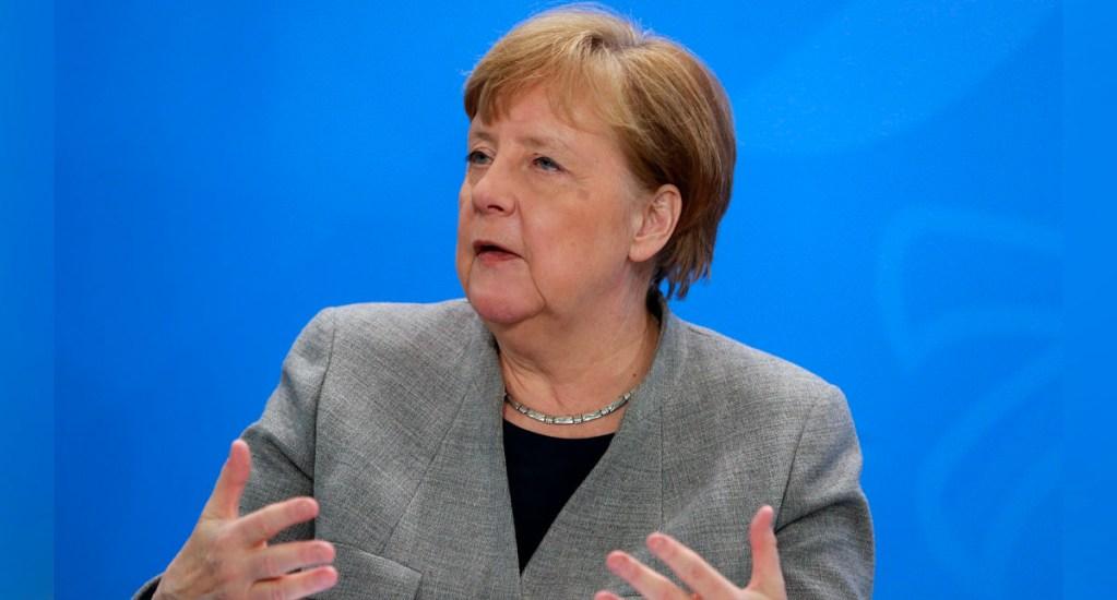 Merkel defiende papel de la OMS en lucha contra COVID-19 - La conferencia virtual de líderes del G7 estuvo centrada en la pandemia de coronavirus y fue formalmente convocada por el presidente Trump