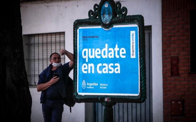 En Argentina hay 159 muertos por COVID-19 y 3 mil 288 casos positivos - Foto de EFE