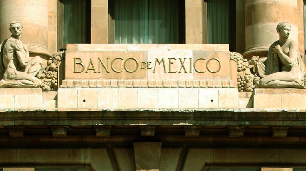 Pronostica Banxico que PIB regrese a niveles de 2018 en un periodo de hasta seis años - Banco de México. Foto Banxico