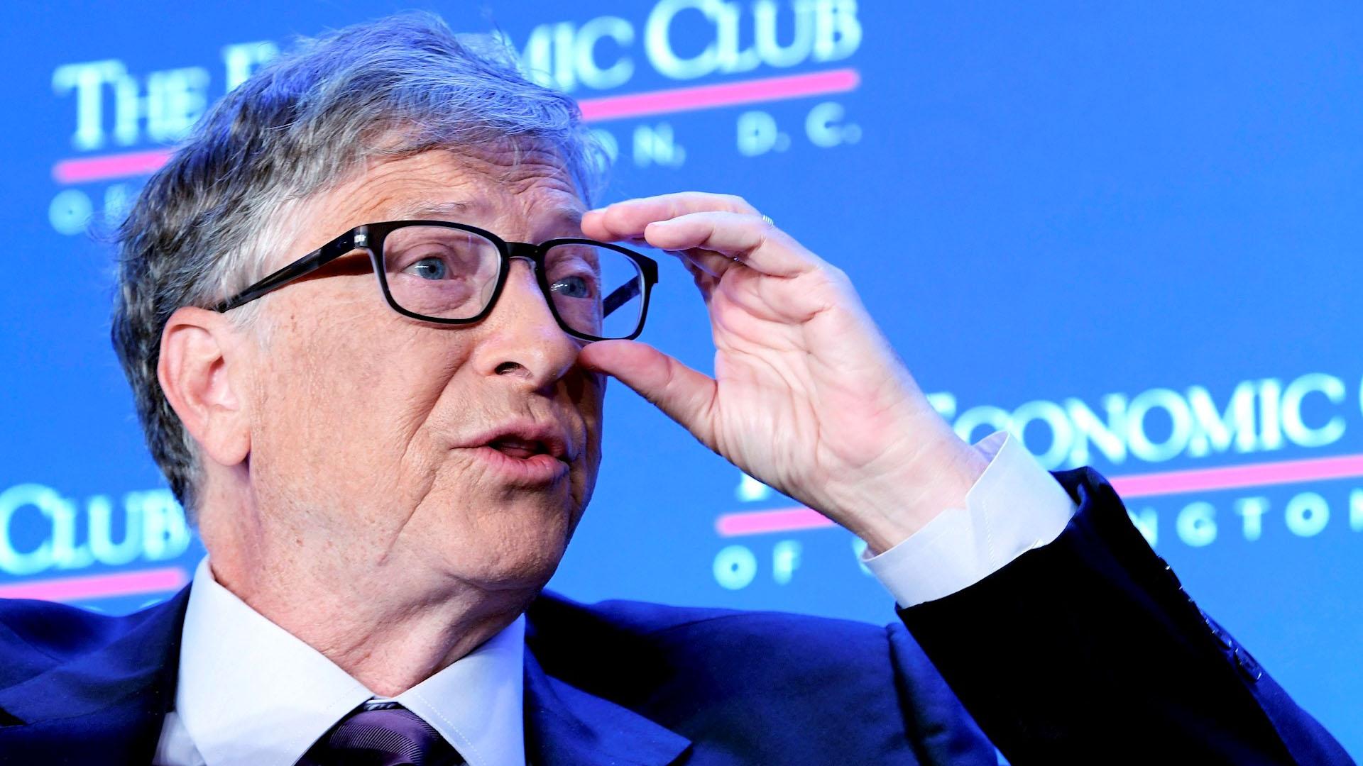 Las 3 recomendaciones de Bill Gates para luchar contra el coronavirus