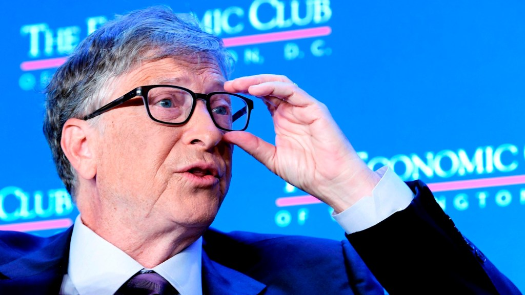 """Soy optimista, creo que evitaremos un desastre climático"": Bill Gates - Bill Gates Trump coronavirus COVID-19"