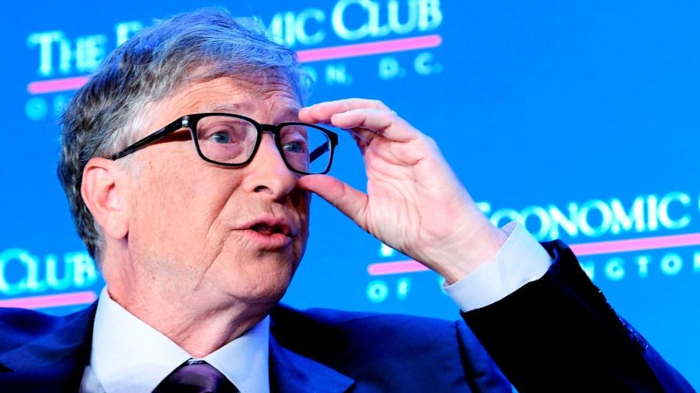 Bill Gates afirma que suspensión de fondos de EE.UU. a la OMS es 'peligrosa' - Bill Gates Trump coronavirus COVID-19