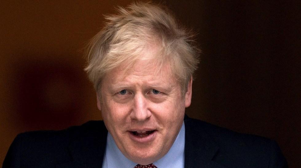 Ingresan a Boris Johnson a cuidados intensivos por COVID-19 - Boris Johnson, primer ministro de Reino Unido. Foto de EFE/EPA/WILL OLIVER.