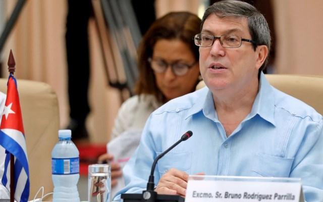 Cuba rechaza acusaciones de EE.UU. sobre vínculo con red de narcotráfico - Bruno Rodríguez Cuba ministro canciller