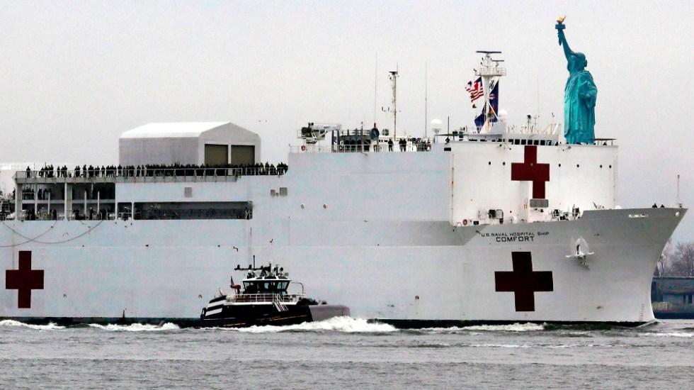Nueva York suma 2 mil 373 muertes por COVID-19 - Foto de EFE